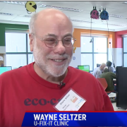 Wayne Seltzer interviewed on Fox 31 for U-Fix-It Clinic