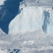 edge of the Thwaites Ice Shelf