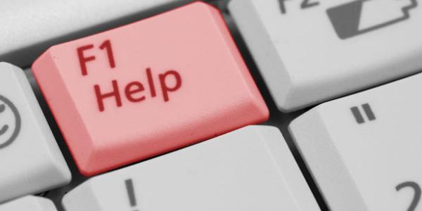 Help Keyboard Key