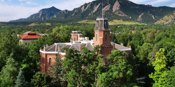 CU Boulder's oldest building