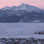 Colorado front range winter scene video cover