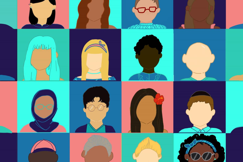 CU Boulder A Colorful & Inclusive Community graphic