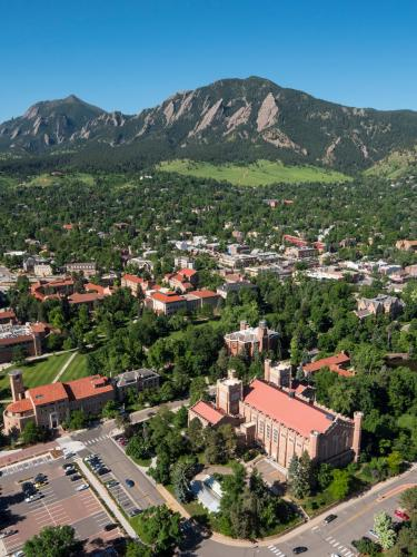 Shot of Campus from Above