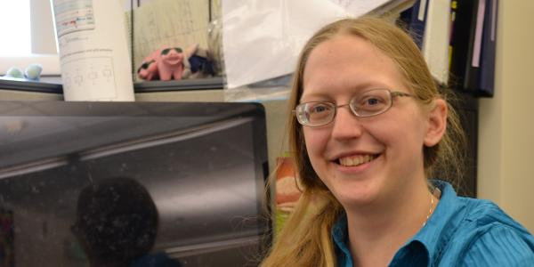 Mary Allen is a postdoc in Robin Dowell's lab at the BioFrontiers Institute.