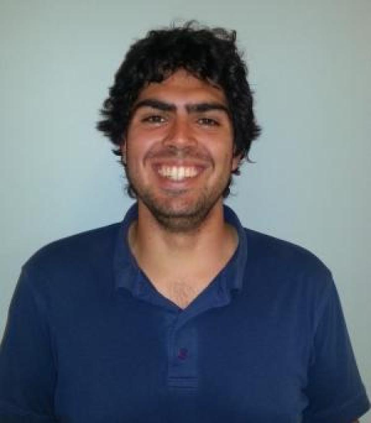 Graduate Research Assistant Giancarlo Bruni