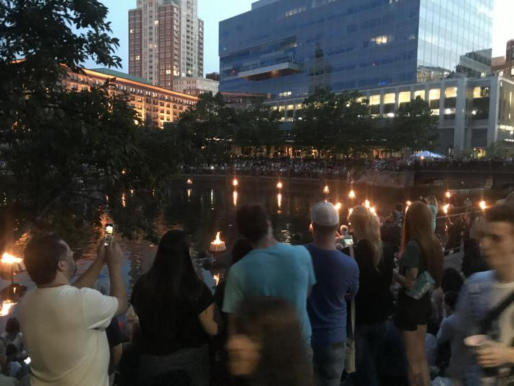 WaterFire in Providence, RI