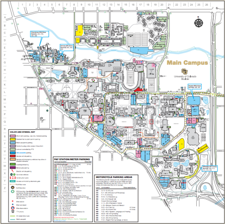 Commuting | BioFrontiers Institute | University of Colorado Boulder