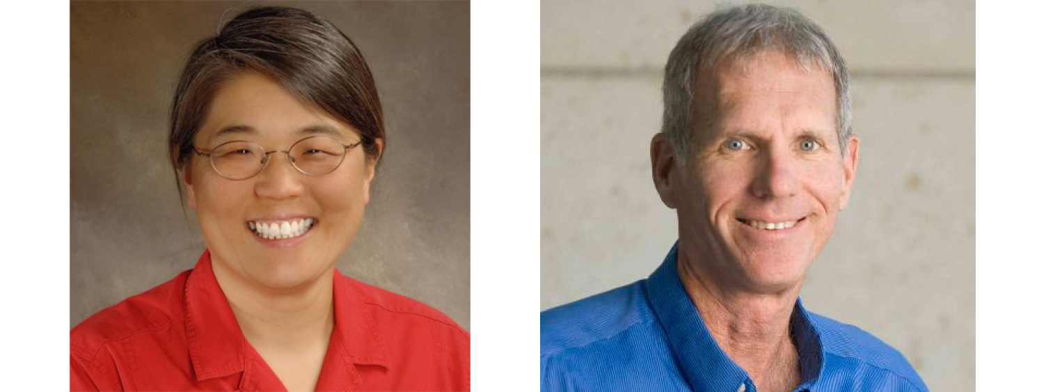 CU Distinguished Professors Natali Ahn and Roy Parker