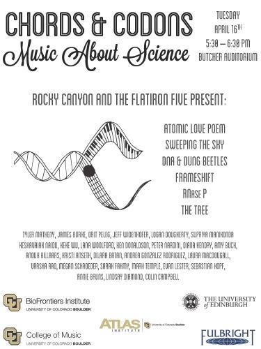 Rocky Canyon and the Flatiron Five present Chords and Codons
