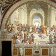 An agora was a gathering place where early scientists would share and refine ideas.