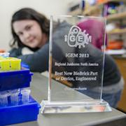 The 2013 iGEM Buffs took home a regional award for their work, now published in ACS Synthetic Biology. The 2014 competed at the international level and took home a Silver Award.