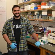 Phil Richardson, an author on a paper recently published in Nature, developed a love for bioinformatics in BioFrontiers' Robin Dowell's lab. His next move: pursuing a graduate degree in medical genomics.