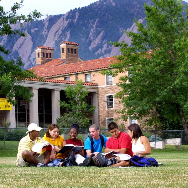 The University of Colorado Boulder has a diverse student population.