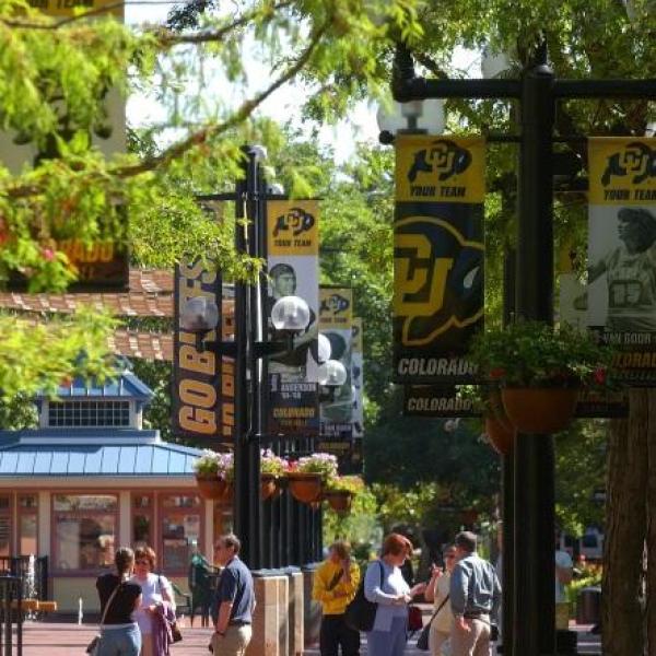 Downtown Boulder - Pearl Street