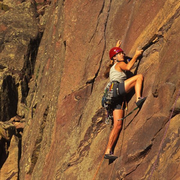Boulder Mountain Parks - climbing
