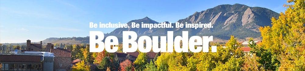 Be Boulder.