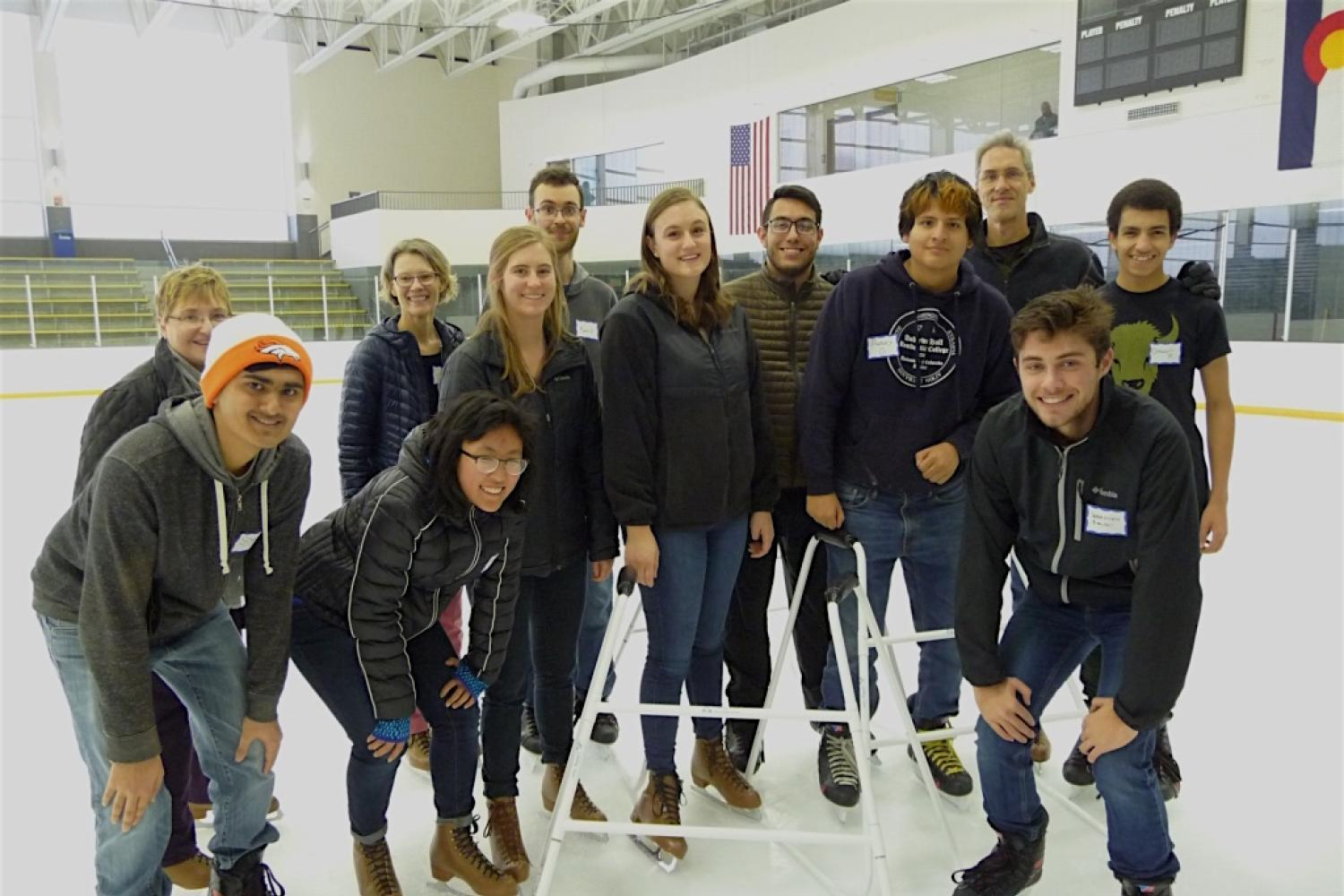 2018 Spring Welcome Back ice skating