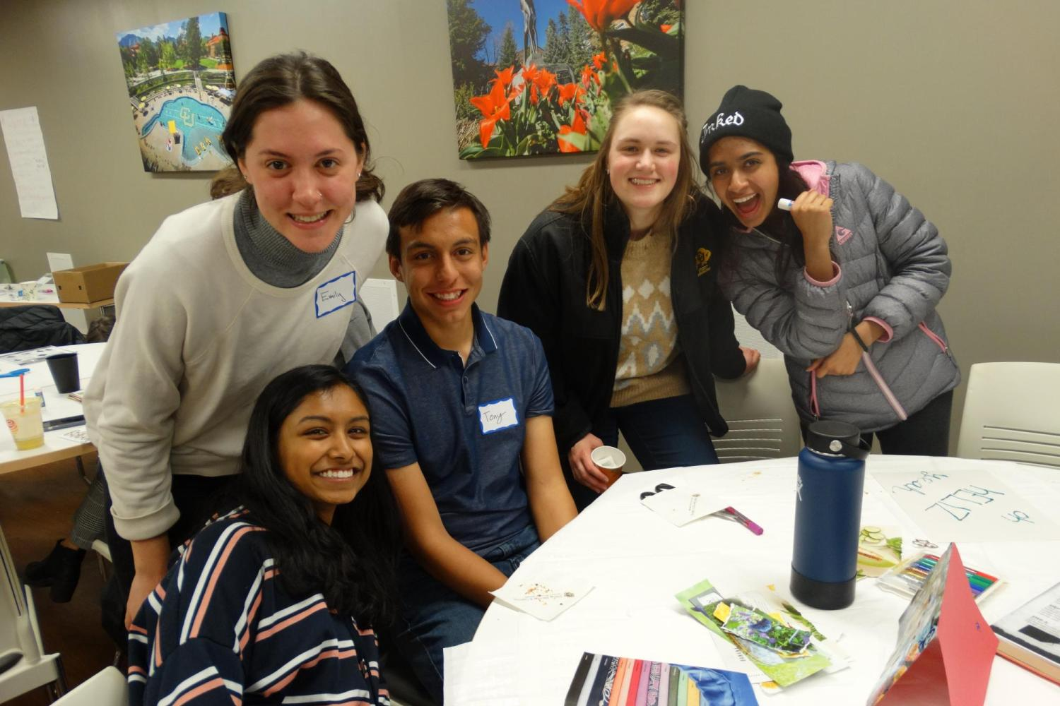 Scholars at Welcome Back Event