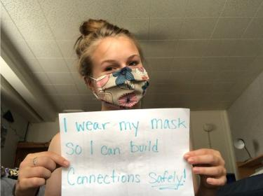 Holly McCollough mask message