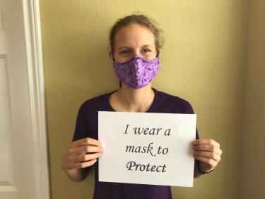Jasey Chanders mask message