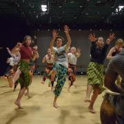 Michael Anthony. African Dance Class.