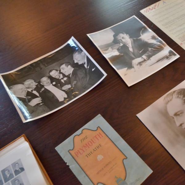 Detail shots of historic photos and documents. Photos of details help as secondary storytelling elements.