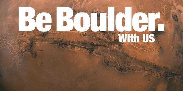 Part of Be Boulder. advertisement