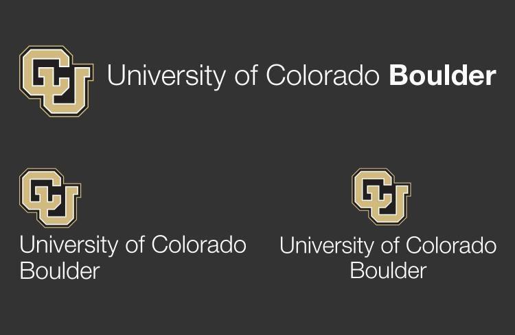 CU Boulder brand identity