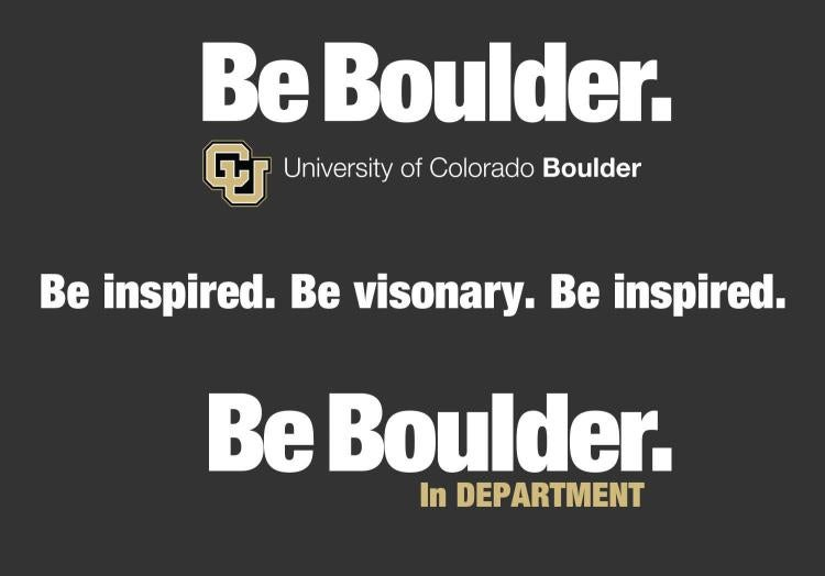 CU Boulder brand messaging