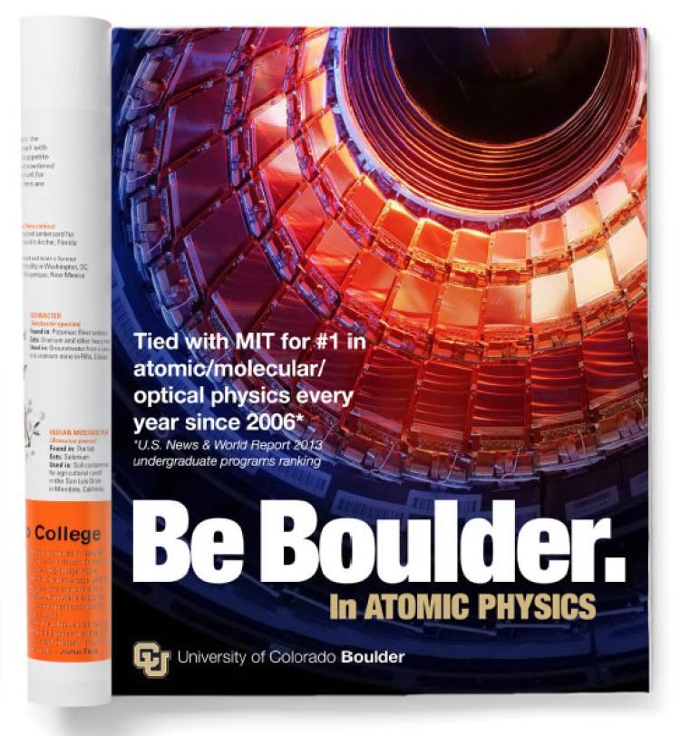 Be Boulder. brochure example