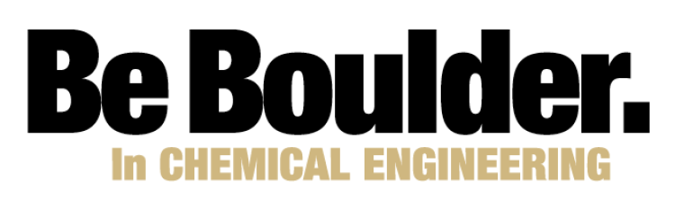 Be Boulder. In Chemical Engineering logo