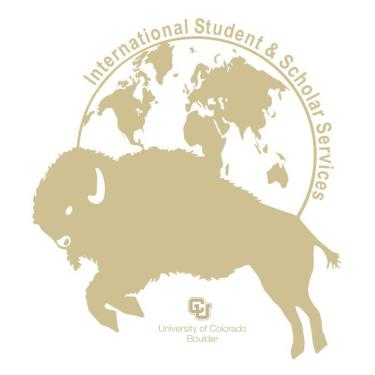 International Student Scholar Services logo good example
