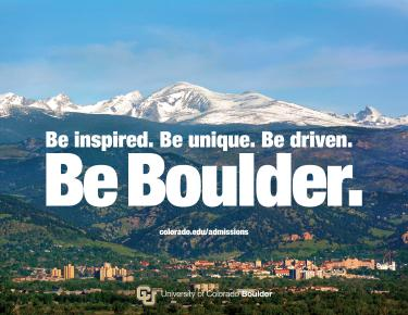 Be Boulder statement counselor poster