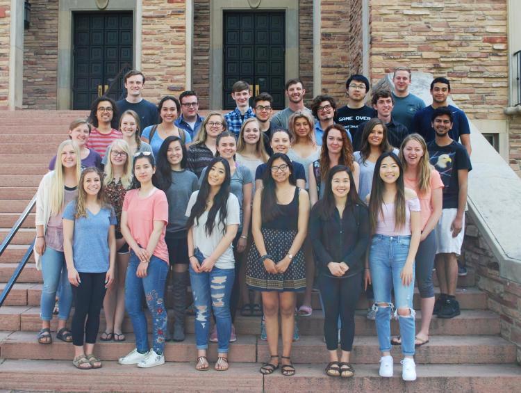 group of summer 2018 BSI scholars