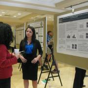 BSI Scholar presenting a poster