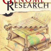 genome research journal cover