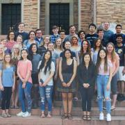 group of summer 2018 BSI scholars