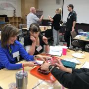 teachers with activity