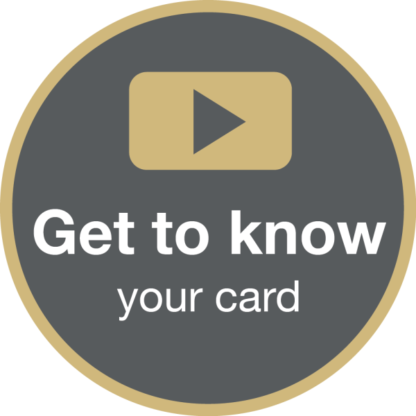 Get to know your card video button