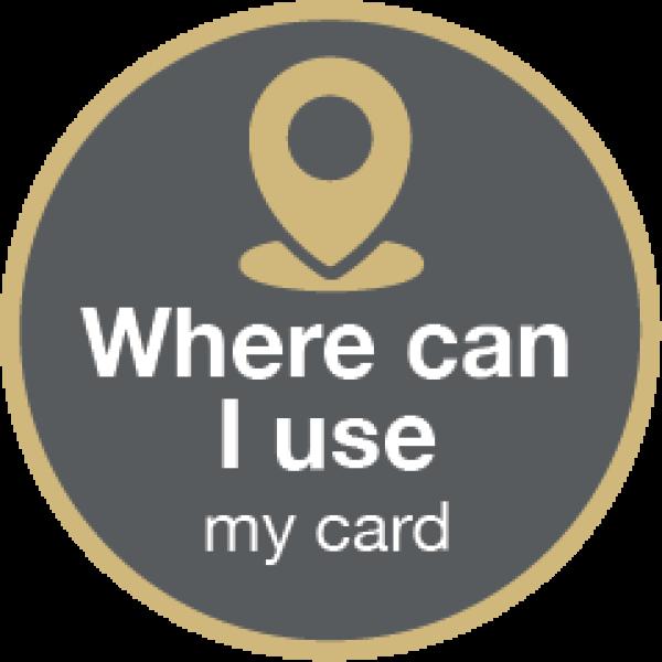 Where can I use my card