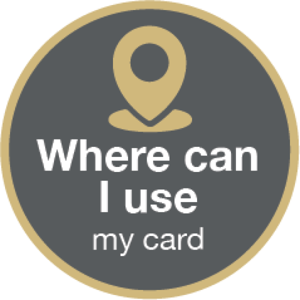 Where can I use my card