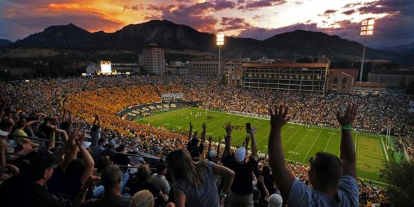 Rocky Mountain Showdown Football Game at Folsom Field