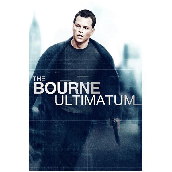 The bourne ultimatum cover