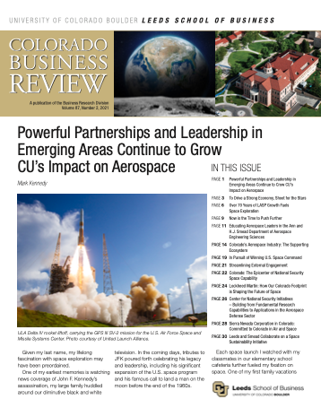 Colorado Business Review, Issue 2, 2021