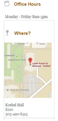Undergraduate Advising Map and Hours