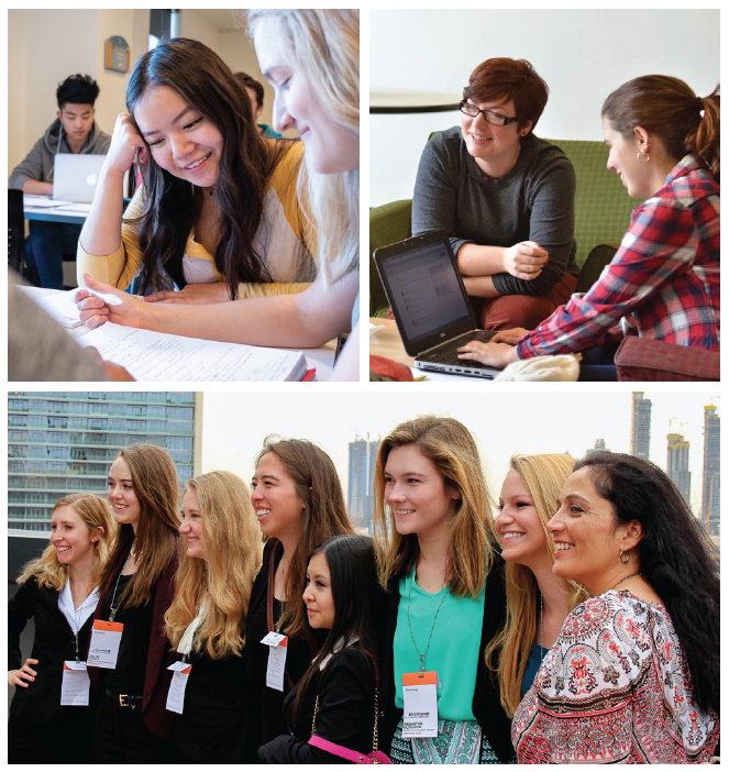 B+E Program participants collage