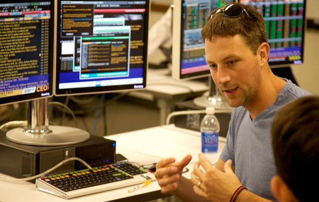 faculty and the Bloomberg Terminal