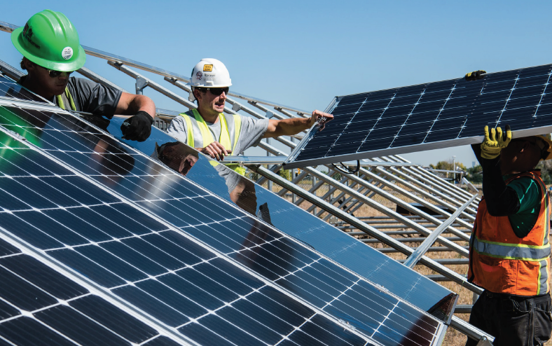 The Business of Sustainable Energy Workers