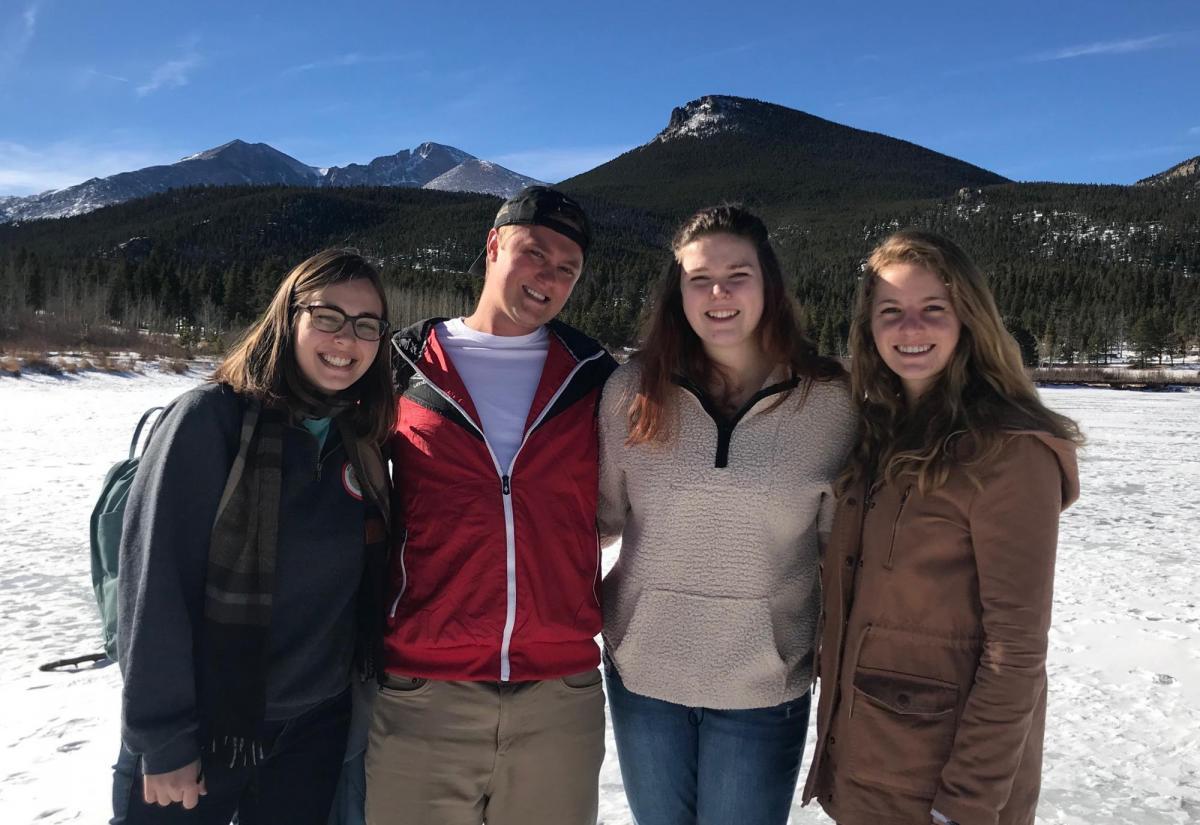CESR Fellows on Colorado slopes