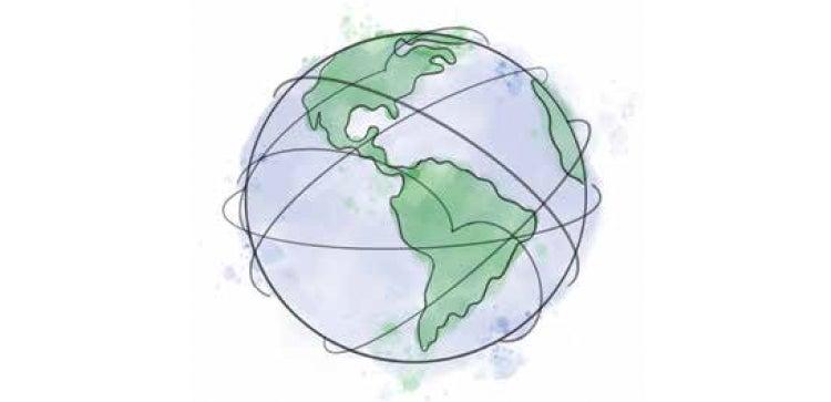 Glober Illustration